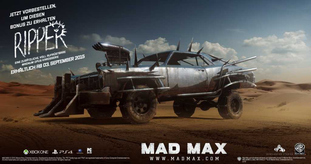 MadMax_Preorder_Ripper_GER