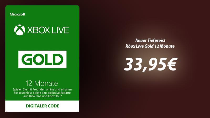 So Günstig Gab Es 12 Monate Xbox Live Gold Schon Lange Nicht