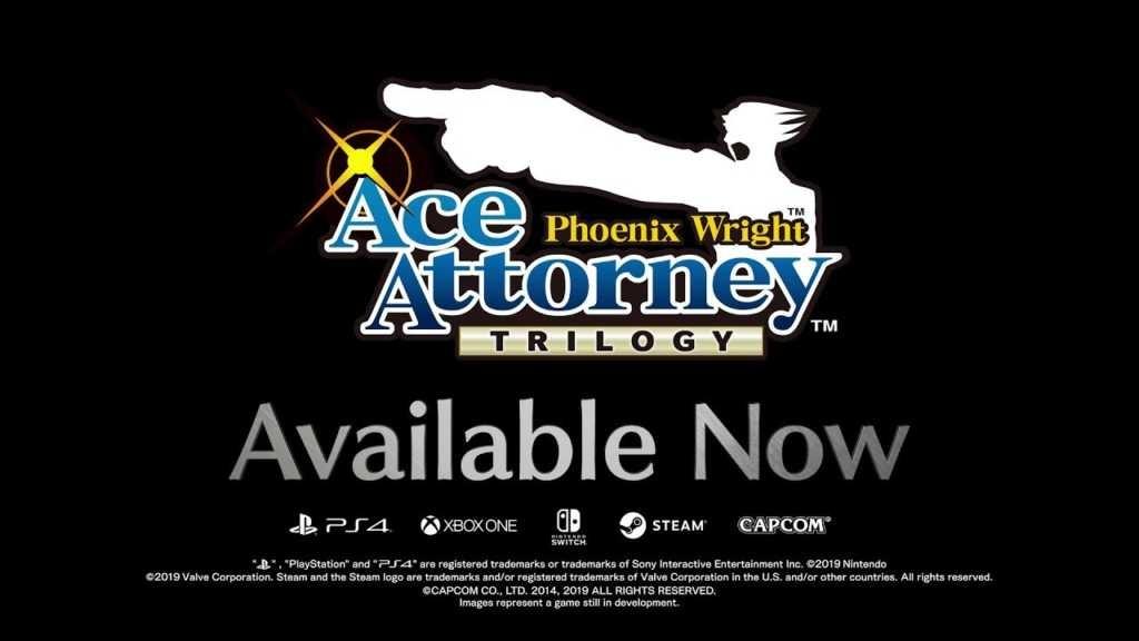 Phoenix Wright: Ace Attorney Trilogy – Launch Trailer und Veröffentlichung auf PC, Xbox One, PS4 ...